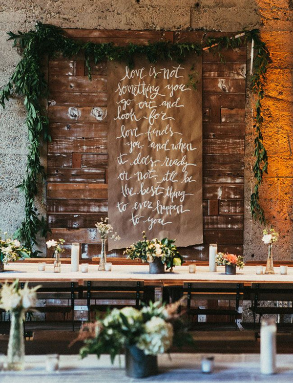 kraft-paper-scroll-with-calligrapht-quote-wedding-ideas