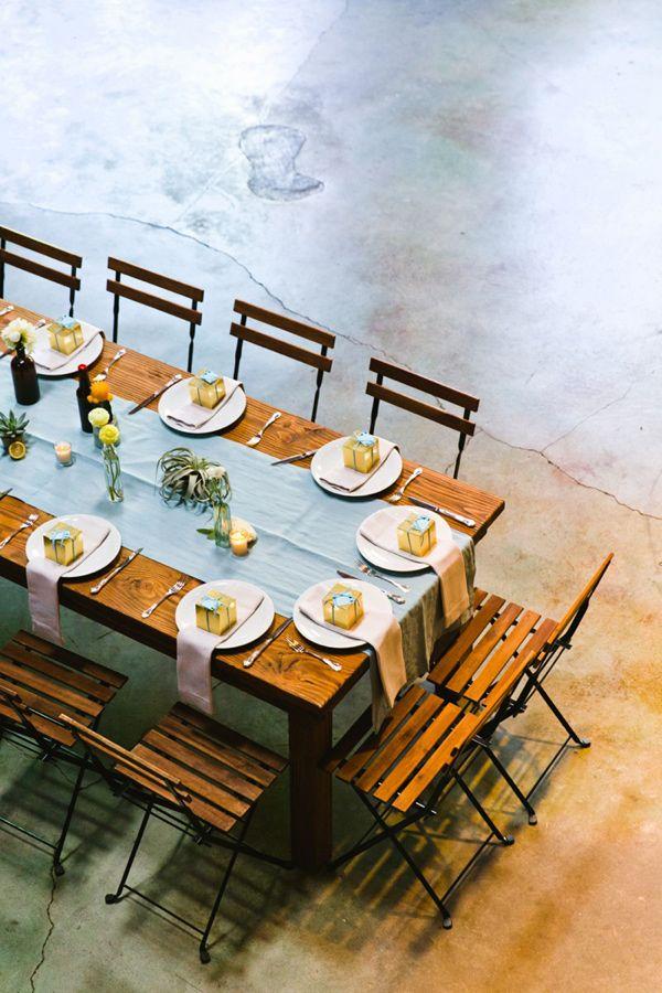 modern-Loft-Wedding-with-a-Citrus-Color-Palette