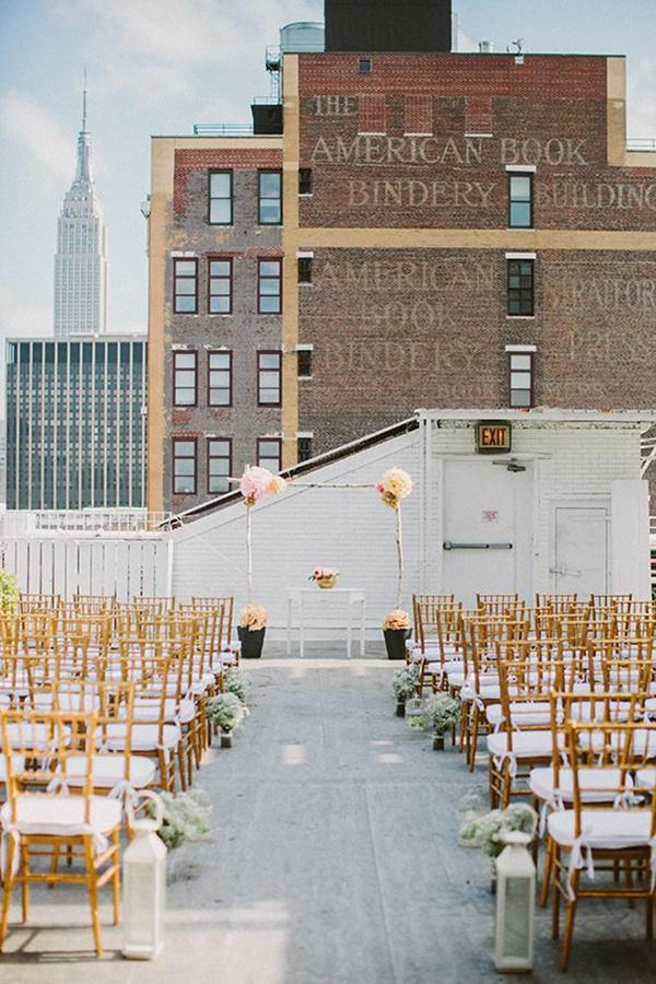 New-York-city-loft-rooftop-wedding-ideas