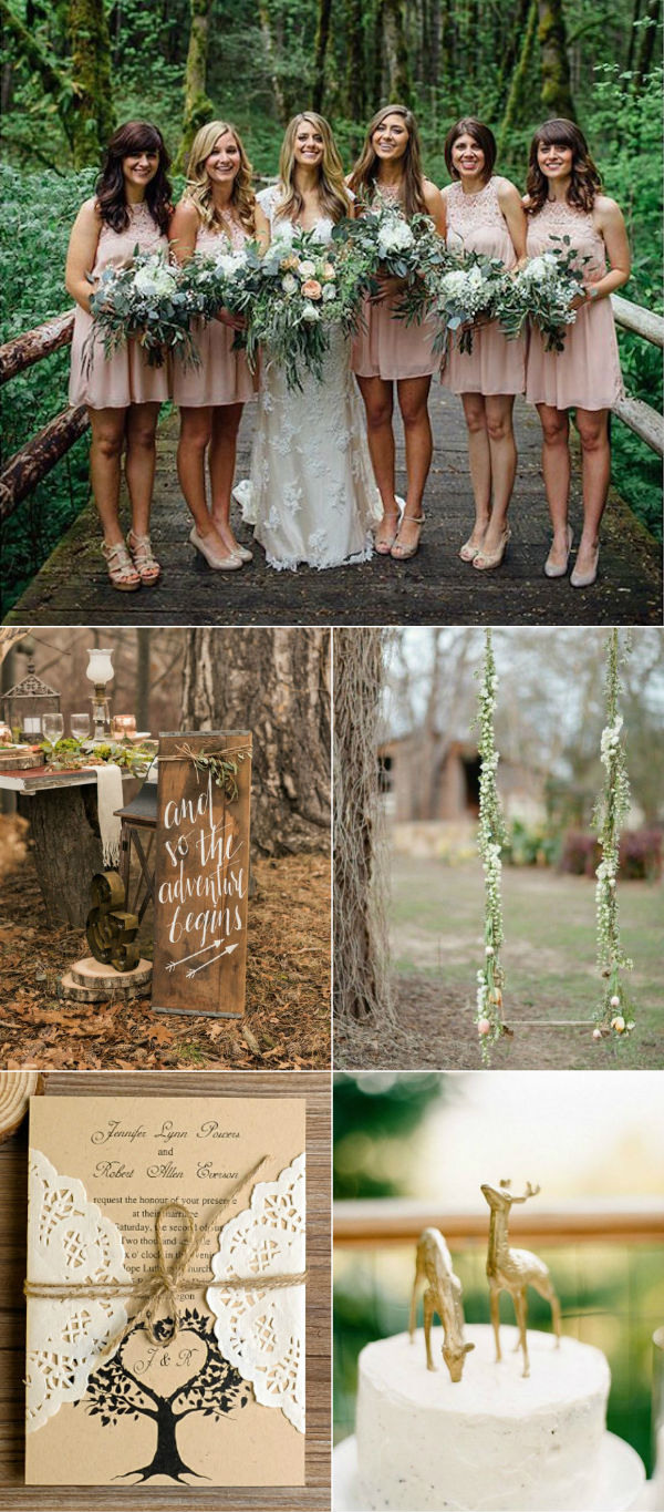 romantic-outdoor-forest-woodland-wedding-ideas